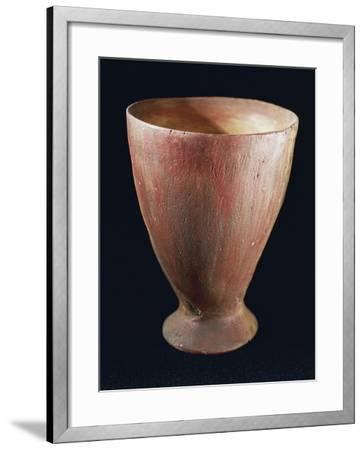 Tulip-Shaped Glass, from Quinzano Veronese, Verona, Veneto, Italy, Neolithic--Framed Giclee Print