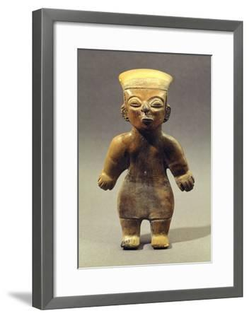 Female Figure Originating from Guangala, Ecuador--Framed Giclee Print