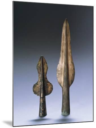 Iron Age, Spear Points--Mounted Giclee Print