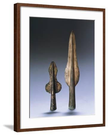 Iron Age, Spear Points--Framed Giclee Print
