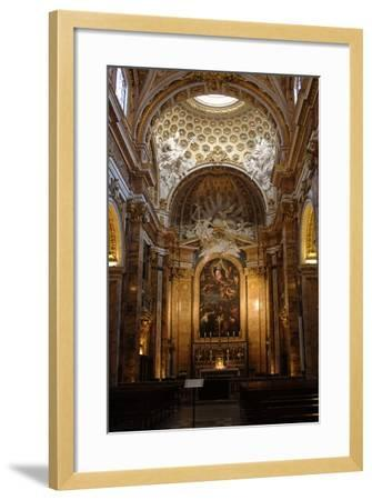 Italy, Rome, Church of St Louis of the French, Interior--Framed Giclee Print