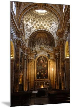Italy, Rome, Church of St Louis of the French, Interior--Mounted Giclee Print