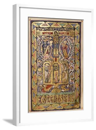 Miniature from a Missal, 12th Century--Framed Giclee Print