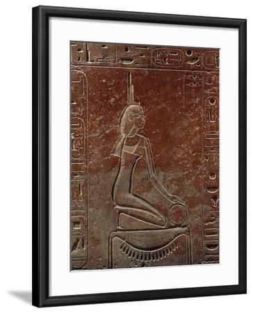 Sarcophagus of Queen Hatshepsut from the Valley of the Kings, Egypt--Framed Giclee Print