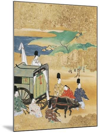 Bride Arriving in Carriage to Betrothed's House--Mounted Giclee Print
