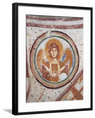 Italy, Friuli Venezia Giulia Region, Aquileia, Cathedral in Crypt--Framed Giclee Print
