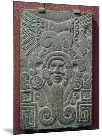 Relief on Stone Depicting Birth of Quetzalcoatl, Mexico--Mounted Giclee Print