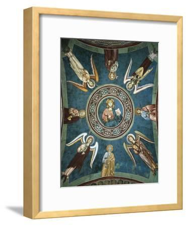 Saints Peter, John the Evangelist, Paul and Andrew Surrounded by Angels, 13th Century--Framed Giclee Print