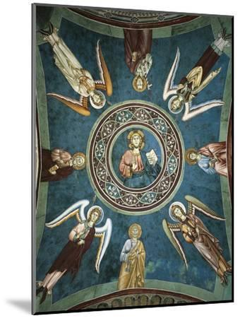 Saints Peter, John the Evangelist, Paul and Andrew Surrounded by Angels, 13th Century--Mounted Giclee Print