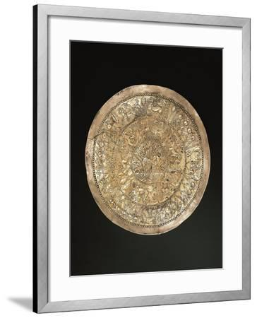 Phoenician Civilization, Silver Cup, from Italy--Framed Giclee Print