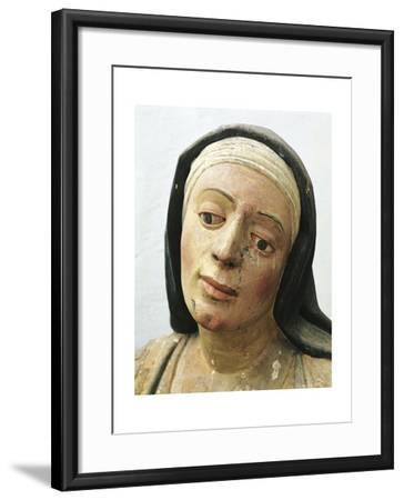 Statue of Martha of Bethania--Framed Giclee Print