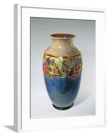Porcelain Royal Doulton Vase--Framed Giclee Print