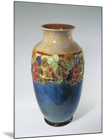 Porcelain Royal Doulton Vase--Mounted Giclee Print