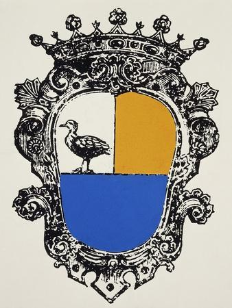 Cagliostro Coat of Arms, France--Framed Giclee Print