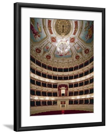 Interior of Teatro Municipale, Reggio Emilia, Emilia-Romagna, Italy--Framed Giclee Print