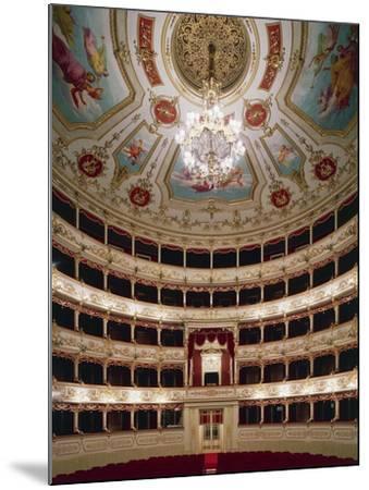 Interior of Teatro Municipale, Reggio Emilia, Emilia-Romagna, Italy--Mounted Giclee Print