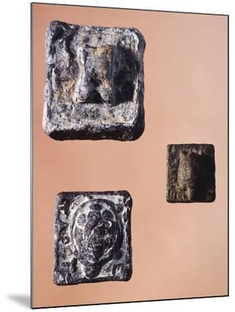Weights from 841.5 Grams, 231 Grams and 127.5 Grams, from the Agora' of Athens, Greece--Mounted Giclee Print