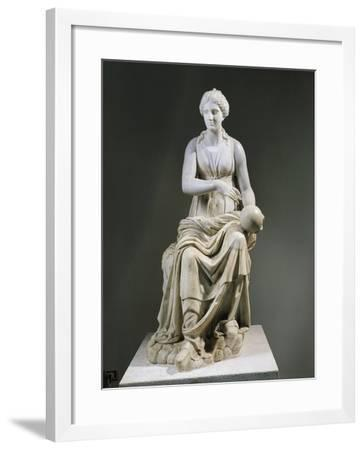 Marble Statue of Muse Urania--Framed Giclee Print