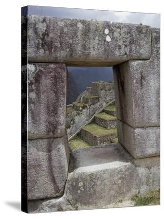 Peru, Urubamba Valley, Machu Picchu--Stretched Canvas Print