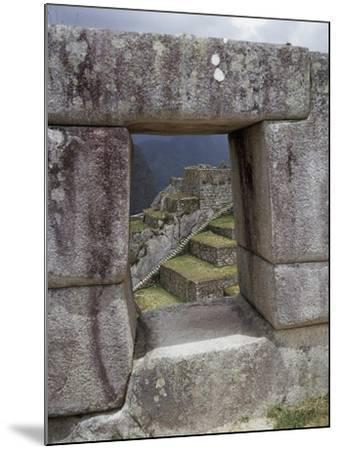 Peru, Urubamba Valley, Machu Picchu--Mounted Giclee Print