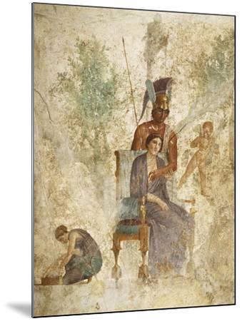 Fresco Depicting Mars and Venus with Love, Pompeii, Campania--Mounted Giclee Print