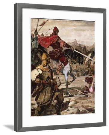Battle of Klokotnitsa March 9, 1230 Which Saw Tsar Ivan Asen II Defeat Theodore of Epirus--Framed Giclee Print