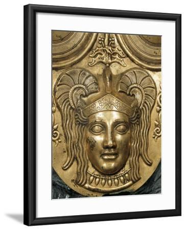 Tunisia, Tunis, Gilded Bronze Armor, Detail--Framed Giclee Print