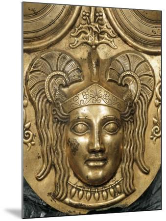 Tunisia, Tunis, Gilded Bronze Armor, Detail--Mounted Giclee Print