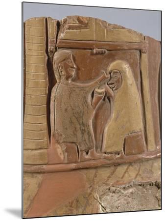 Turkey, Bitik, Fragment Painted Pottery Depicting a Mystic Marriage--Mounted Giclee Print