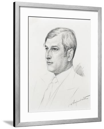 Austria, Vienna, Portrait of Clemens Krauss--Framed Giclee Print