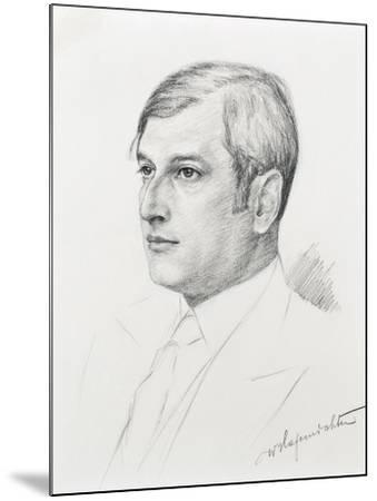 Austria, Vienna, Portrait of Clemens Krauss--Mounted Giclee Print