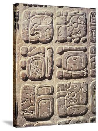 Mexico, Chiapas State, Palenque--Stretched Canvas Print