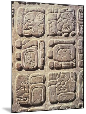 Mexico, Chiapas State, Palenque--Mounted Giclee Print