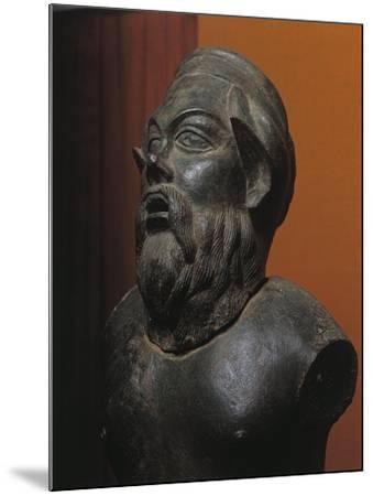 Bronze Statue of Silenus Marsyas--Mounted Giclee Print
