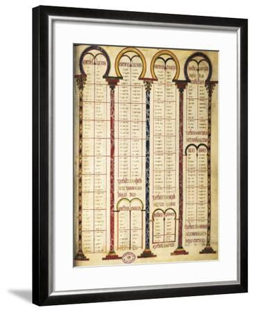 Miniature from the Bible of Danila, 9th Century--Framed Giclee Print
