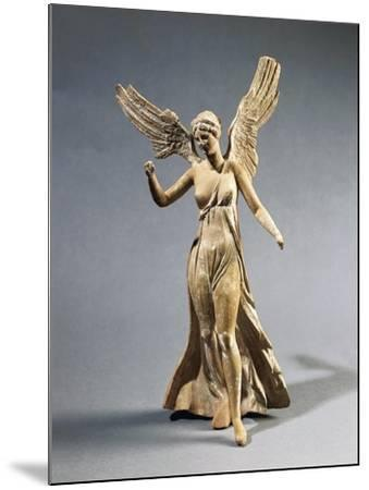 Terracotta Statuette of Victory, from Myrina--Mounted Giclee Print
