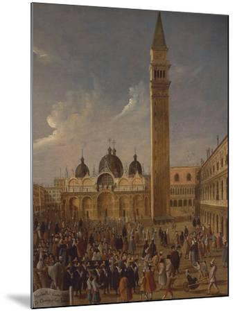 Italy, Veneto, Venice, Carnival on San Marco Square, Close-Up--Mounted Giclee Print