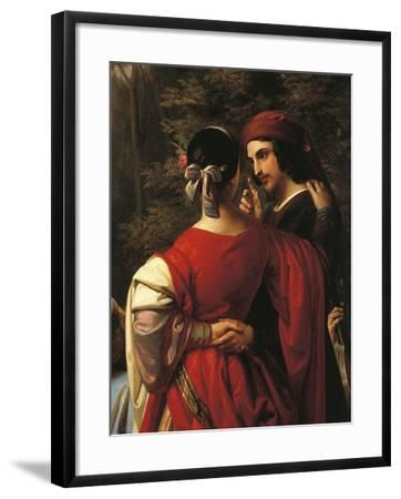 Italy, Treviso, Storytellers of Decameron, Close-Up--Framed Giclee Print