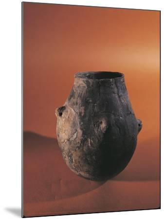 Terracotta Vessel from Alsace--Mounted Giclee Print