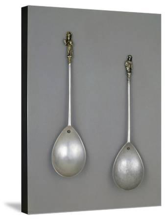 Silver Spoons, 1490--Stretched Canvas Print