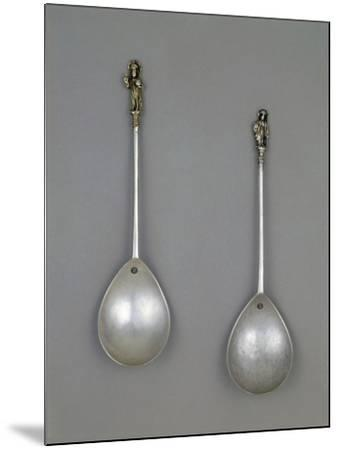 Silver Spoons, 1490--Mounted Giclee Print