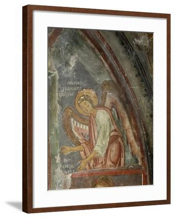 The Archangel Michael Detail, 13th Century--Framed Giclee Print
