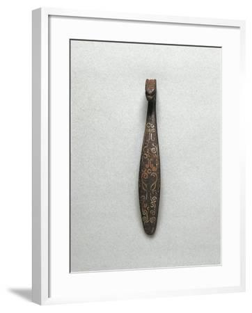 Iron and Bronze Buckle, Han Dynasty--Framed Giclee Print