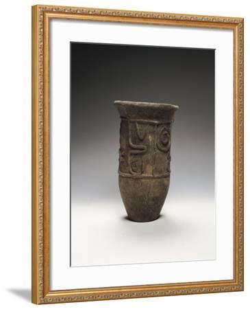 Italy, Rome, Museo Nazionale D'Arte Orientale, Decorated Pot from Chiba--Framed Giclee Print
