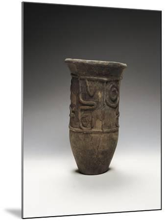 Italy, Rome, Museo Nazionale D'Arte Orientale, Decorated Pot from Chiba--Mounted Giclee Print