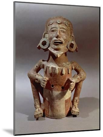 Statuette of Macuilxochitl, God of Flowers, Dance and Music, from Mexico--Mounted Giclee Print