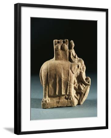 Greece, Mirina, Statuette Representing an Elephant Used for Struggles, Terracotta--Framed Giclee Print