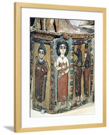 Plastron of Coffin Depicting Isis Figure--Framed Giclee Print