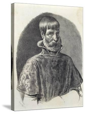 Portrait of Juan Ponce De Leon, 1513--Stretched Canvas Print