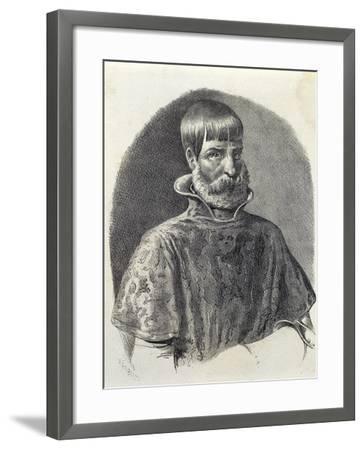 Portrait of Juan Ponce De Leon, 1513--Framed Giclee Print